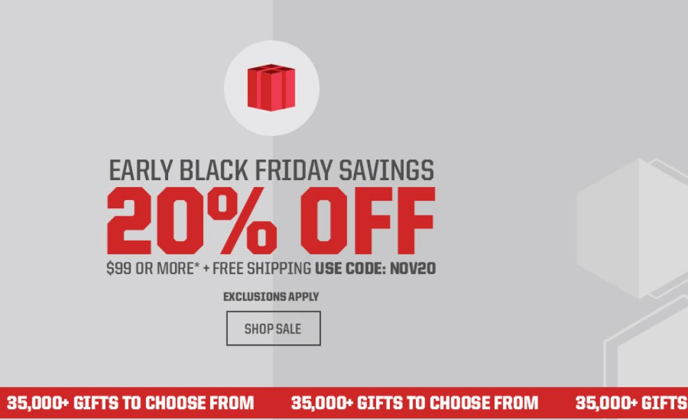 Eastbay Black Friday page 1