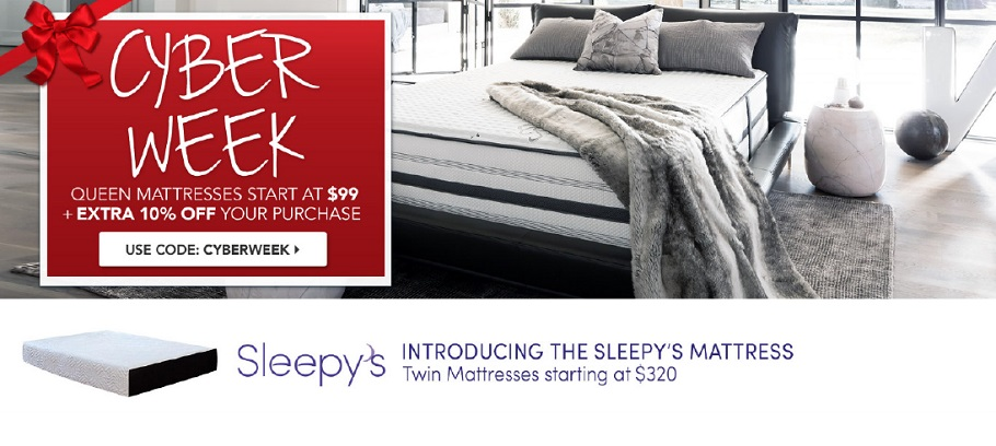 sleepys cyber monday ad - Cyber Monday Mattress Deals