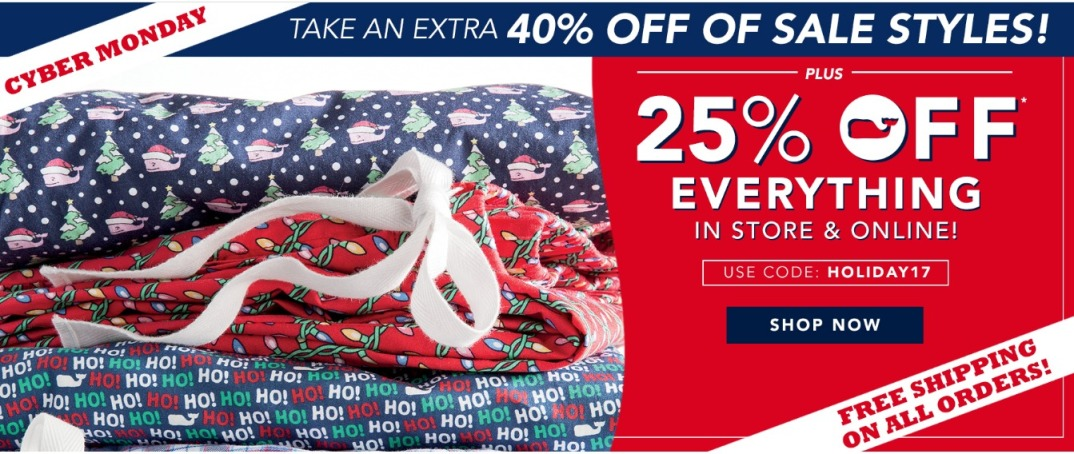 Vineyard Vines Cyber Monday page 1