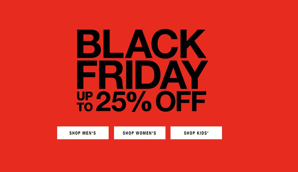The North Face Black Friday page 1